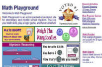 Links math playground excellent selection of word problems math games and logic games ibookread ePUb